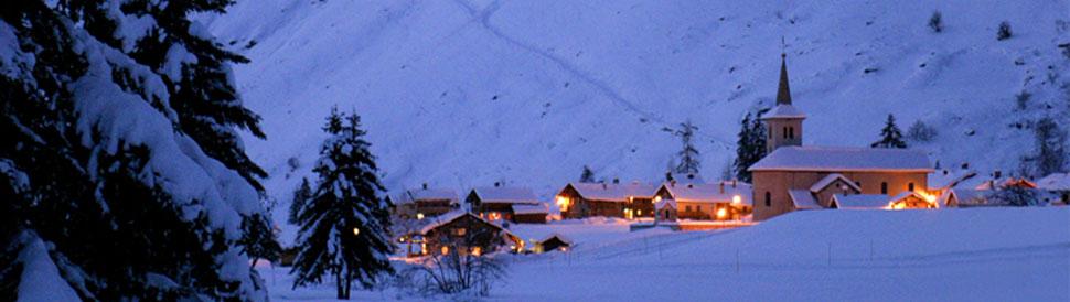Champagny en Vanoise Carte Ski Champagny en Vanoise